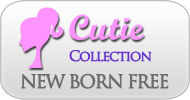 New Born Free Cutie Collection Wigs