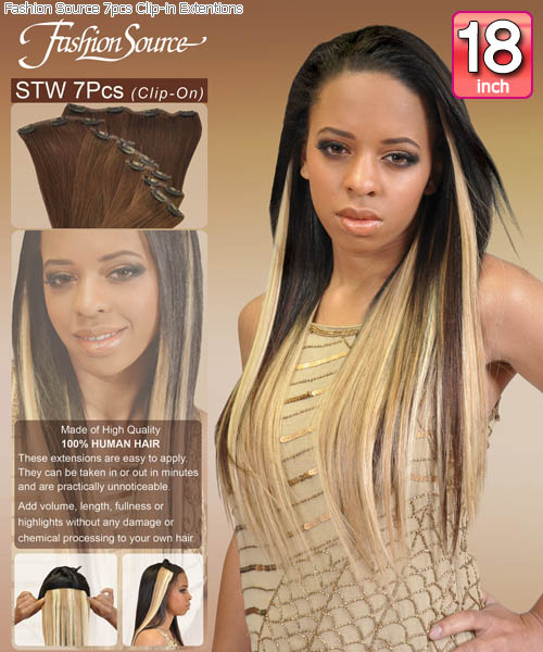 Fashion source stw18 clip in hair extension pmusecretfo Image collections