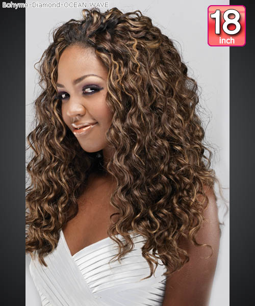 Wave Human Hair Extensions 89