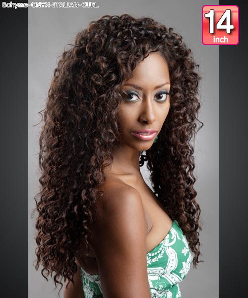 Onyx curly weave bohyme italian curl 14 bohyme onyx bohyme onyx italian curl 14 100 human hair weave pmusecretfo Images