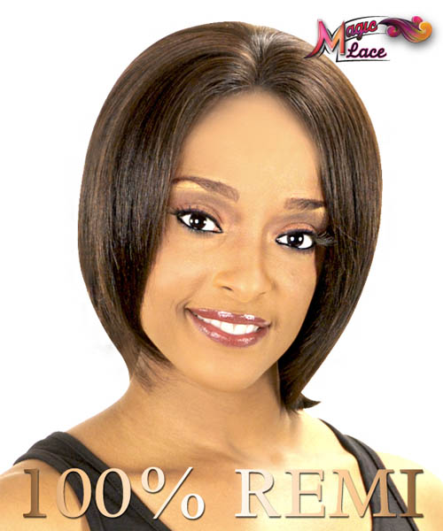 New Born Free Magic Lace - MLH02 CHOCOLATE Lace Front Wig Remi Human Magic Wigs