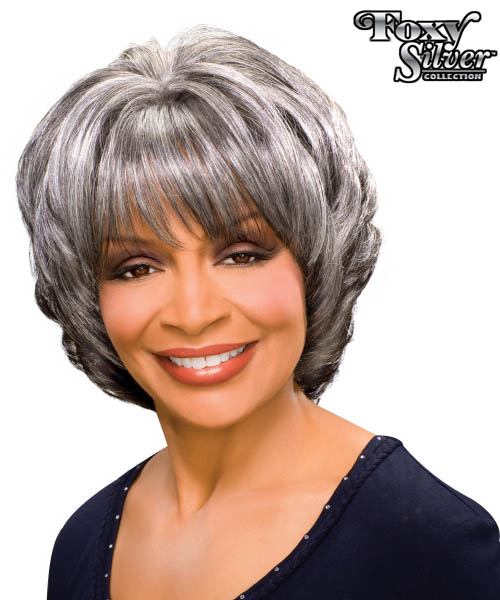 Foxy Silver - MARGARET Synthetic Full Wig
