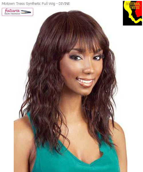 Motown Tress DIVINE - Futura Synthetic Motown Full Wig