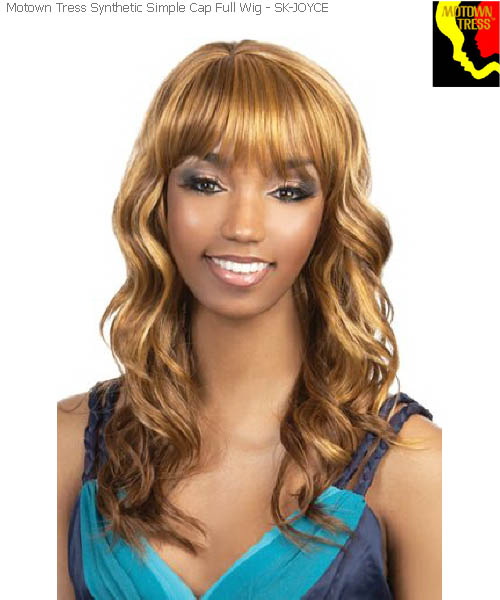 Motown Tress SK-JOYCE  -  Simple Cap Motown Full Wig