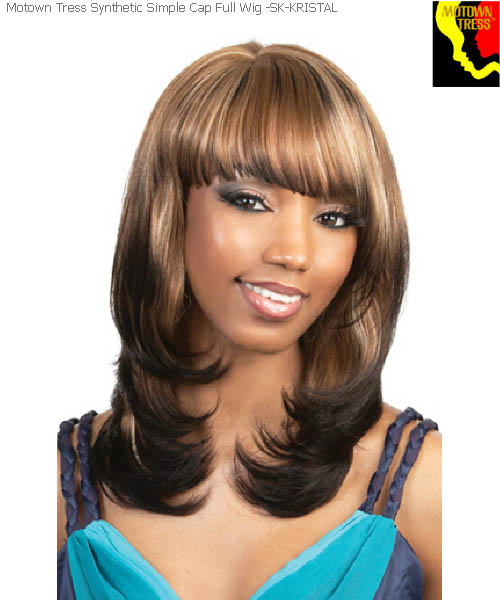 Motown Tress SK-KRISTAL  -  Simple Cap Motown Full Wig