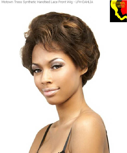 Motown Tress LFH-DAHLIA  -  Handtied Motown Lace Wig