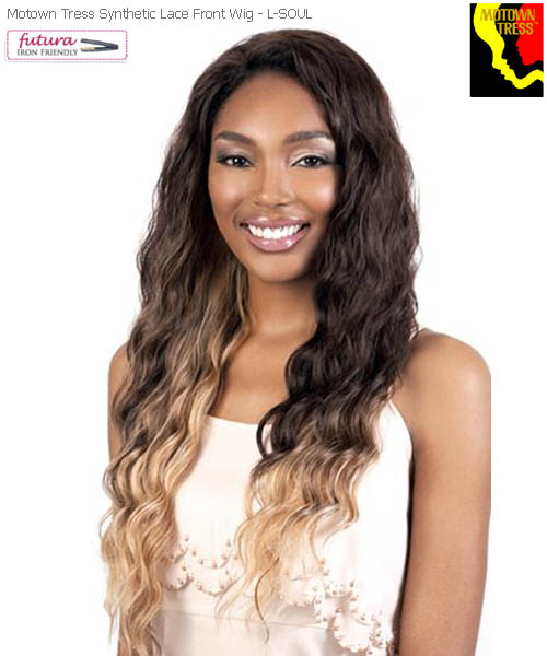 Motown Tress L. SOUL - Futura Synthetic Motown Lace Wig