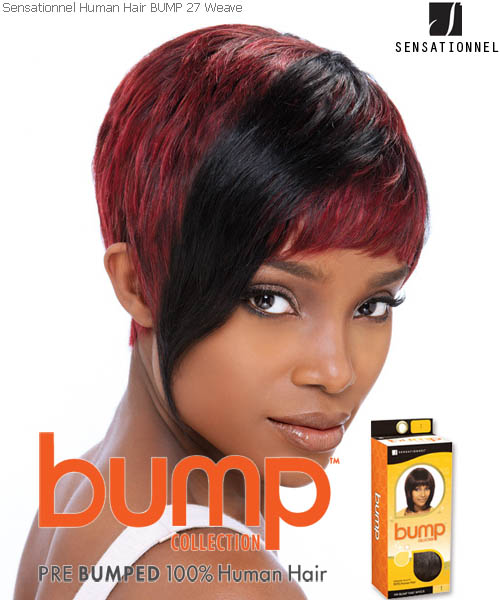 27pcs-inch Sensationnel Weaving Hair ( Bump Collection )