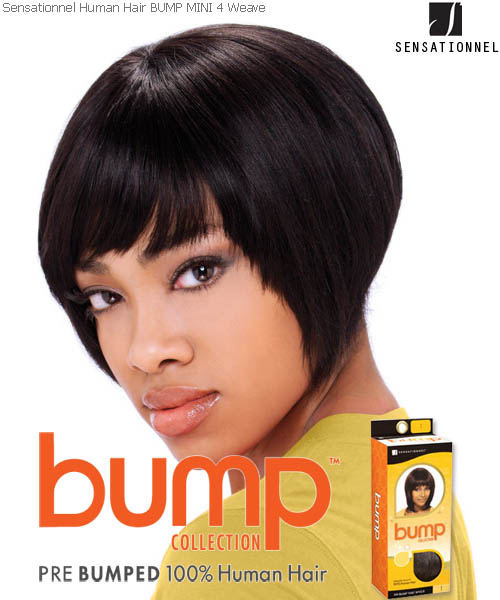 Hairstyles For Short Hair Using Bumpits : MINI 4-inch Sensationnel Weaving Hair ( Bump Collection )