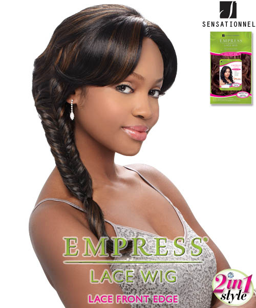 Sensationnel Empress Edge 2in1 DIAMOND - Synthetic Lace Front Wig