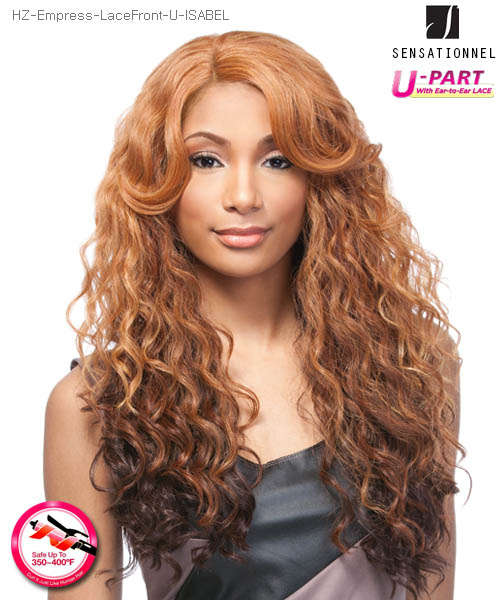 Sensationnel Empress Edge U Part ISABEL - Futura Lace Front Wig