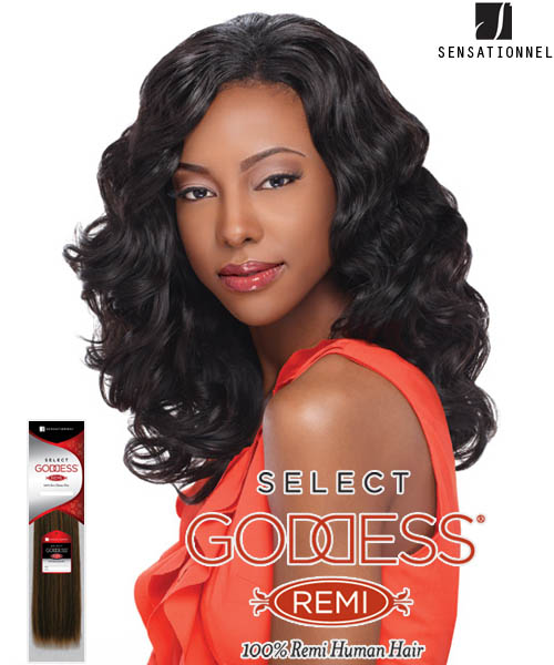 Sensationnel Goddess Select ALLURE 12 - Remi Human Weave