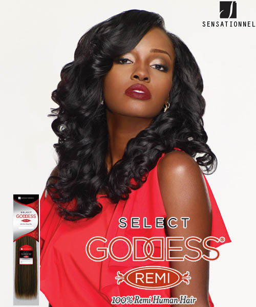 Sensationnel Goddess Select LUXE 10s - Remi Human Weave