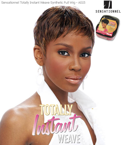 Sensationnel Totally Instant Weave A015 - Synthetic Full Wig