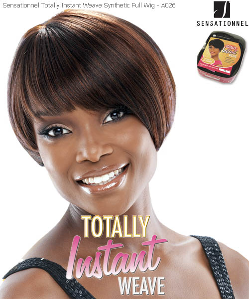 Sensationnel Totally Instant Weave A026 - Synthetic Full Wig