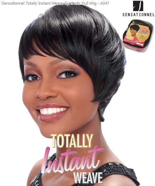Sensationnel Totally Instant Weave A047 - Futura Synthetic Full Wig