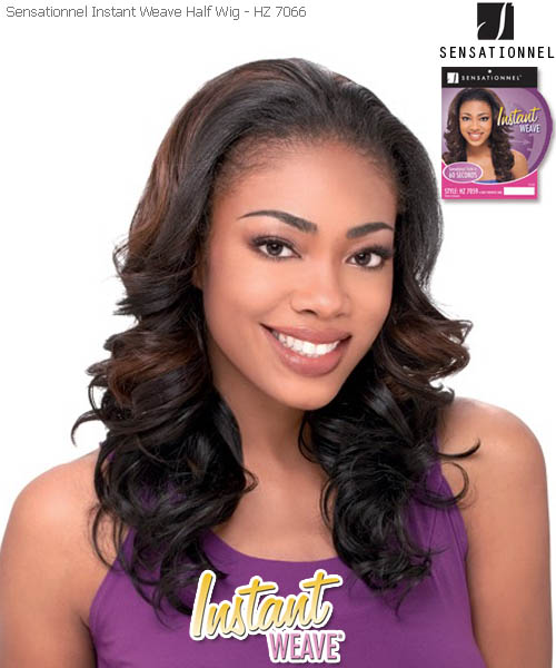 Sensationnel Instant Weave HZ7066 - Futura Synthetic Half Wig