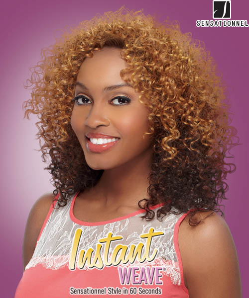 Sensationnel Instant Weave Milan Synthetic Half Wig