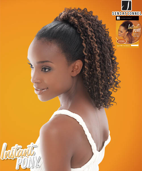 Sensationnel Instant Pony P028 - Synthetic Ponytail