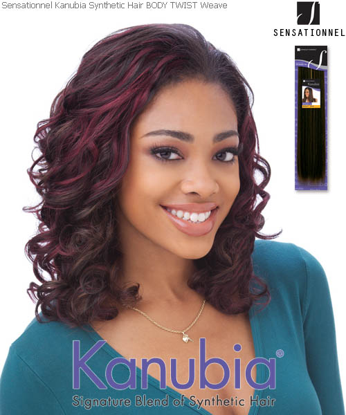 Sensationnel Kanubia BODY TWIST - Synthetic Weave
