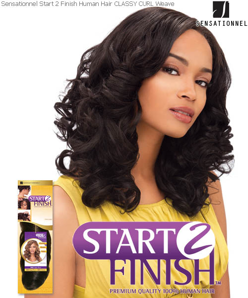 Classy curl 16 sensationnel start 2 finish sensationnel start 2 finish classy curl 16 human hair weave pmusecretfo Choice Image
