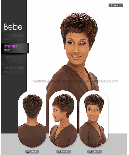 Vanessa Fifth Avenue Collection Synthetic Full Wig - BEBE