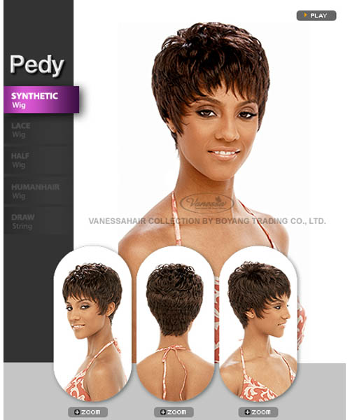 Vanessa Fifth Avenue Collection Synthetic Full Wig - PEDY