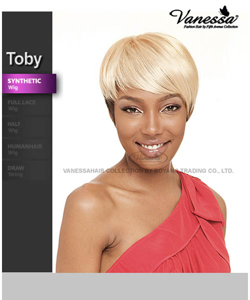 Vanessa Fifth Avenue Collection Synthetic Full Wig Toby
