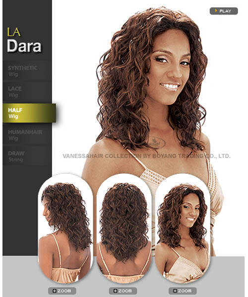 Vanessa Fifth Avenue Collection Synthetic Half Wig - LA DARA