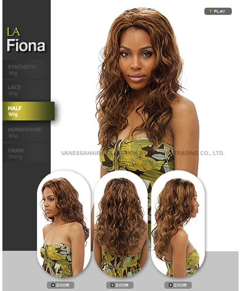 Vanessa Fifth Avenue Collection Synthetic Half Wig - LA FIONA