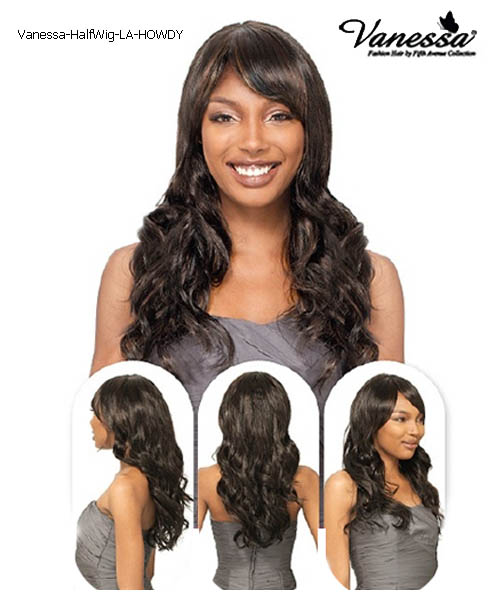 Vanessa Fifth Avenue Collection Synthetic Half Wig - LA HOWDY