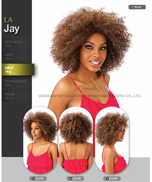 Vanessa Fifth Avenue Collection Synthetic Half Wig - LA JAY
