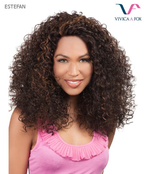 Vivica Fox Lace Wig ESTEFAN - Synthetic Natural Baby Hair Lace Front Wig