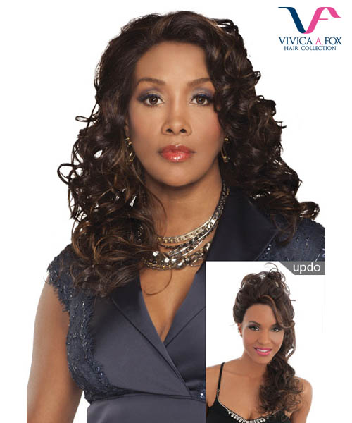 Vivica Fox Lace Wig FERGIE - Futura Synthetic DeeeP Lace Front Wig