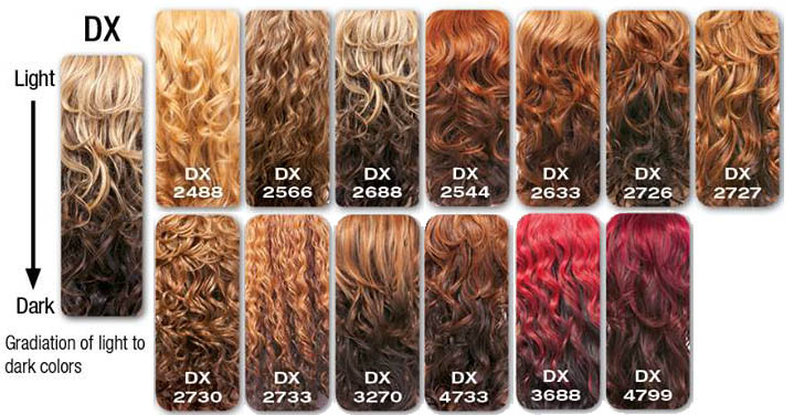 sensationnel Ombre Colors list What is DX Color