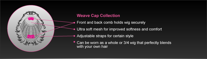 vivica a fox weave cap collection wigs