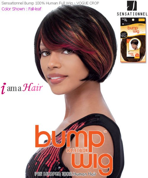 Sensationnel Human Hair Bump Collection Wig Vogue Crop 31