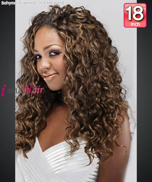 Pink Diamonds 18 Inch Hair Weave 27