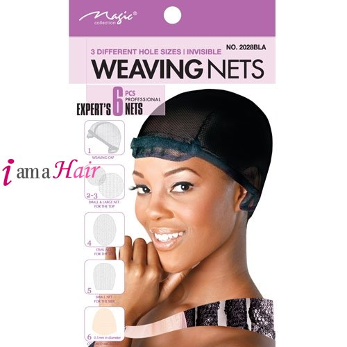 Magic hair weaving nets 6pcs magic weaving net caps nets magic hair weaving nets 6pcs pmusecretfo Images