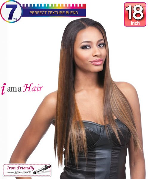 Yaki Indian Virgin Hair Clip In Extensions 6pc 106