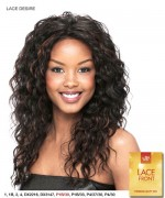 It's a wig Synthetic Lace Front Wig - LACE DESIRE