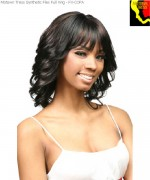 Motown Tress Flex Synthetic Full Wig - FX-COPA