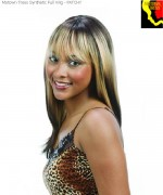 Motown Tress Synthetic Full Wig - PATCHY