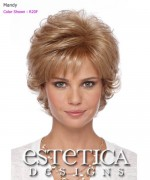 Estetica Classique Pure Stretch Cap Full Wig - Mandy