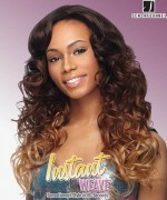 Sensationnel Instant Weave 2IN1 Style GENEVA - Synthetic Half Wig