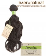 Unprocessed Peruvian Remi Human Hair Weave Extensions - Loose Wave