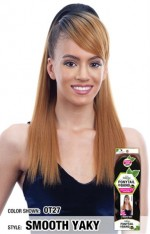 SnG Freetress Equal Drawstring Ponytail -  SMOOTH YAKY PONYTAIL & SWOOP SIDE BANG