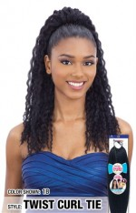 SnG Freetress Synthetic Buntie Ponytail - TWIST CURL TIE