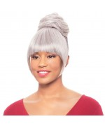 Foxy Silver Drawstrings Synthetic Ponytail Hair Piece - DUET 4