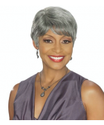 Foxy Silver Human Hair Wig - H/H Desiree